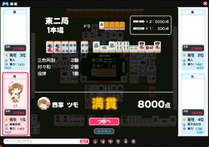 初心者麻雀(ピグ麻雀)2
