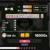 初心者がネット麻雀をやっている様子(2016/03/15-03/21)