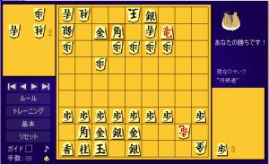 将棋歴20-35日 2 ハム将棋